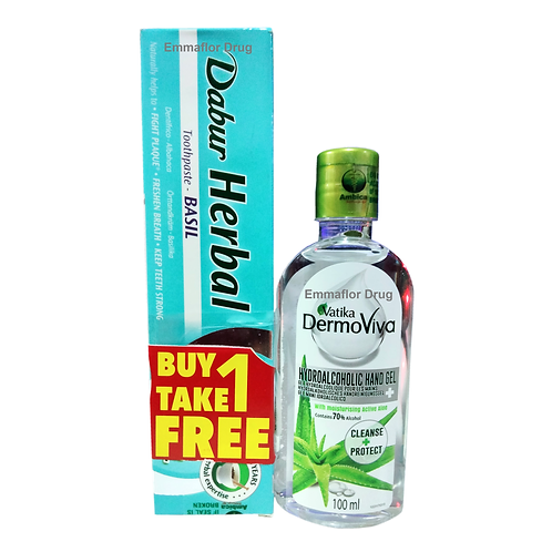 Vatika Dermoviva Hydroalcoholic Gel 100ml