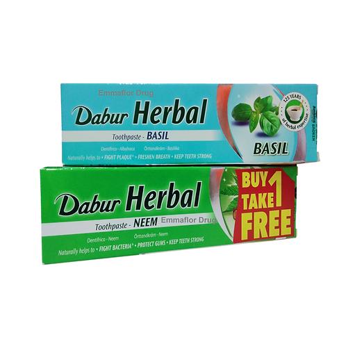 Dabur Herbal Toothpaste Basil