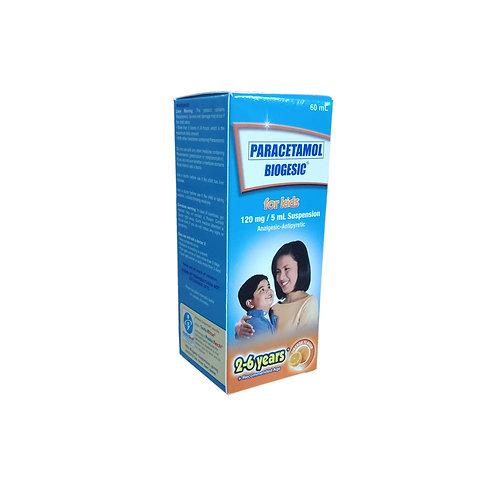 Biogesic 120mg/5ml Orange 60ml