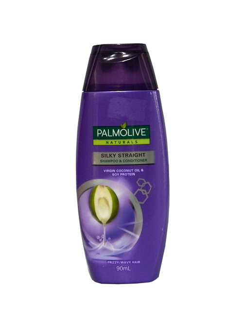 Palmolive Silky Straight Shampoo and Conditioner 90ml