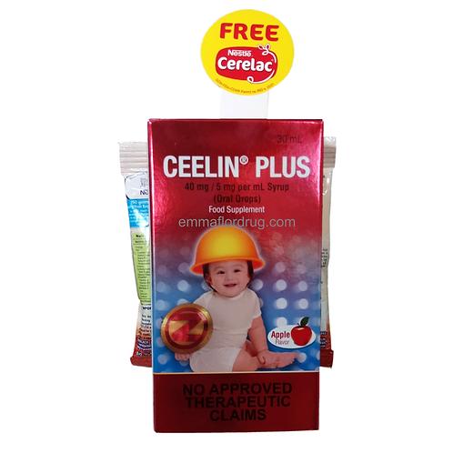 Ceelin Plus Drops 30ml with FREE Cerelac
