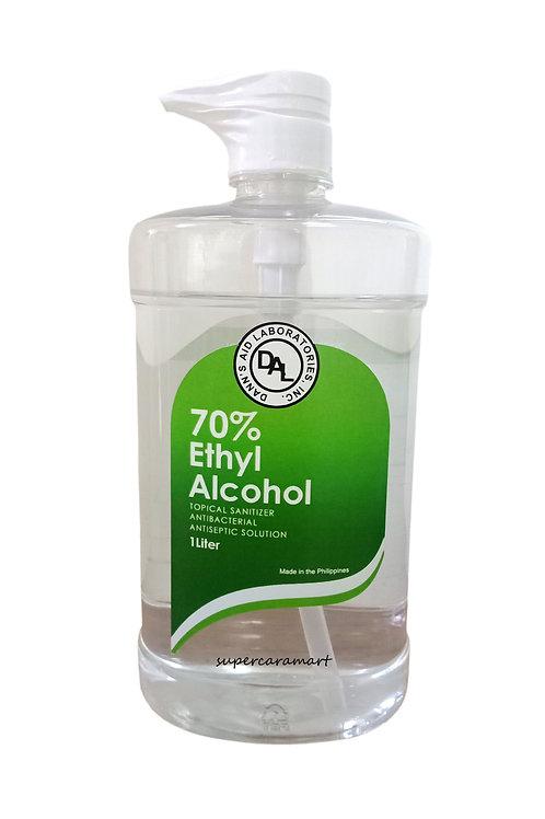 Dann's 70% Ethyl Alcohol 1Liter