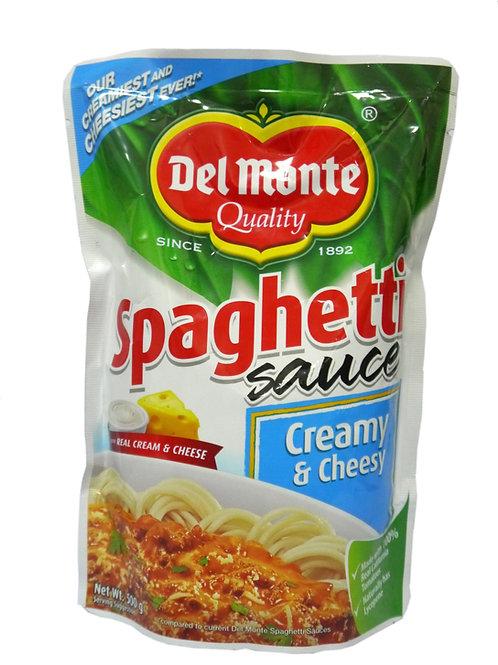 Del Monte Creamy and Cheesy Spaghetti Sauce 500g