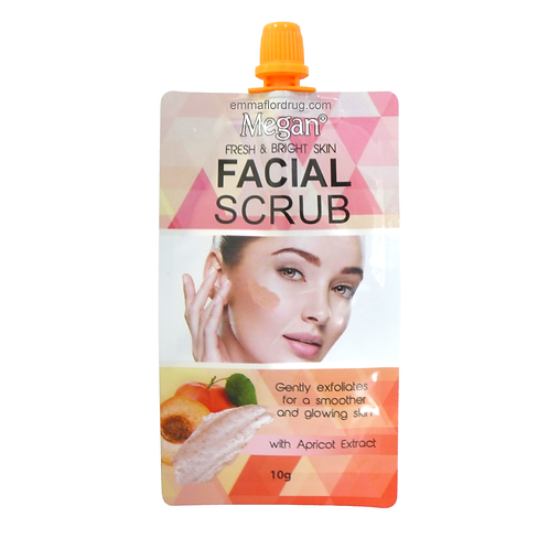 Megan Facial Scrub with Apricot Extract