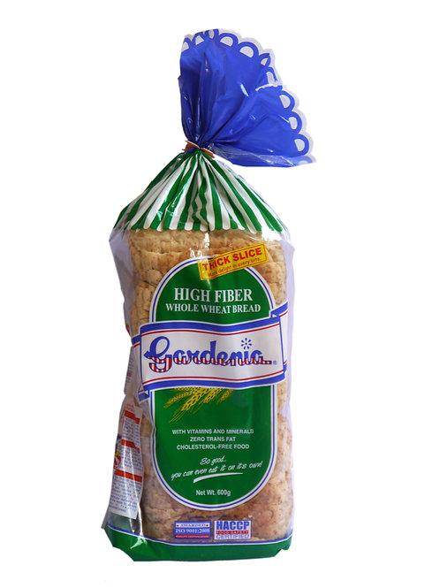 Gardenia High Fiber Whole Wheat Bread 600g