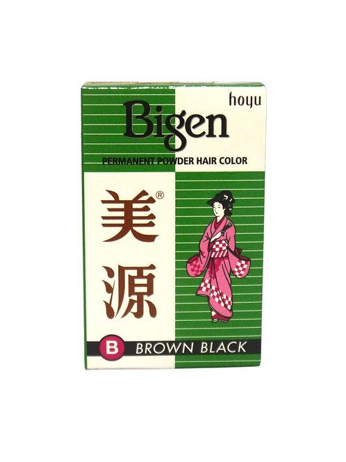 Bigen Brown Black