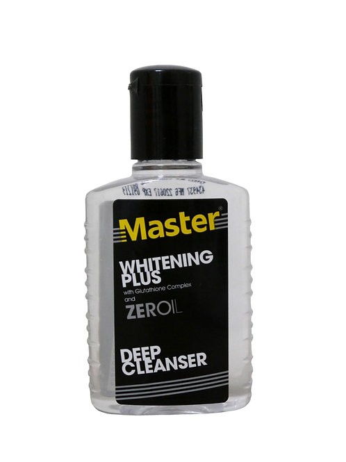 Master Whitening Plus with Glutathione and Zeroil 75ml