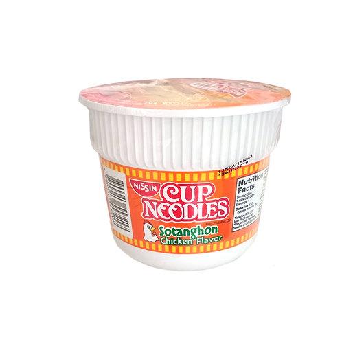 Nissin Cup Noodles Sotanghon Chicken Flavor 30g