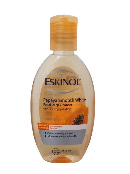Eskinol Papaya Smooth White Facial Cleanser 75ml