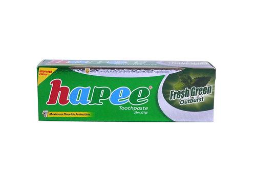 Hapee Toothpaste Fresh Green Outburst 25ml