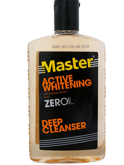 Master Active Whitening with Papaya Extract Facial Cleanser