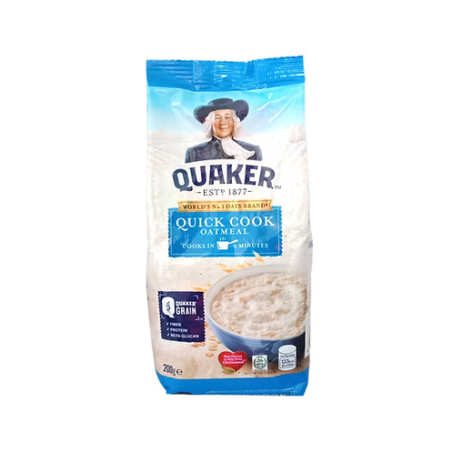 Quaker Quick Cook Oatmeal 200g