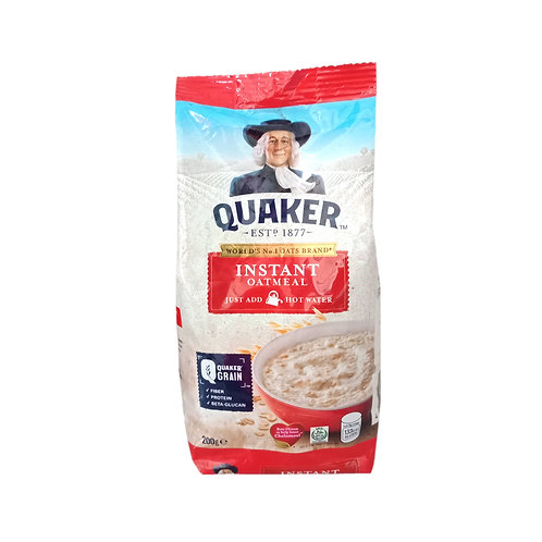 Quaker Instant Oatmeal 200g