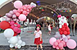 Valentine's Day Theme Balloon Arch