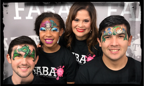 Professional Face Painting in Orlando