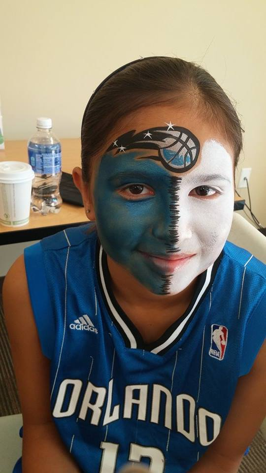NFL Face painting