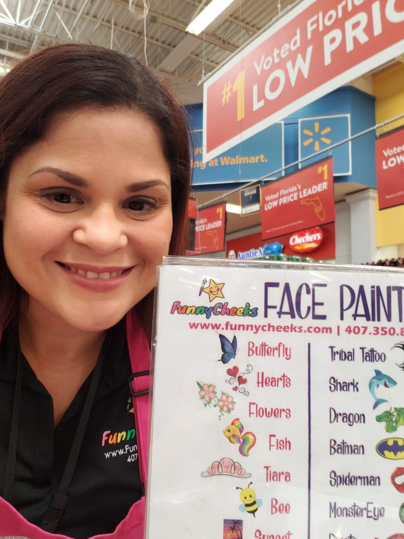 Hire a professional face painter