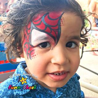 Waterproof Face Paint Spiderman