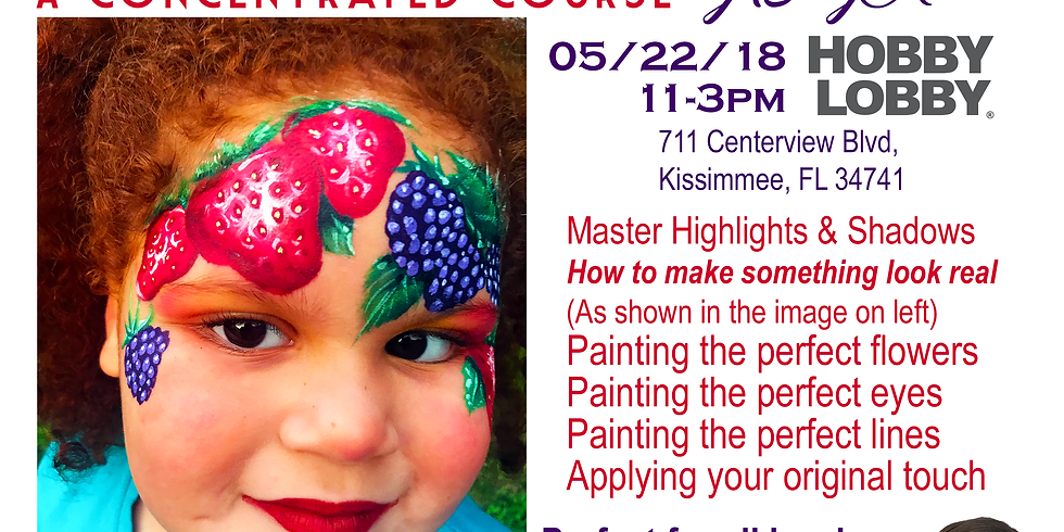 Face Painting Workshop by Susy Amaro