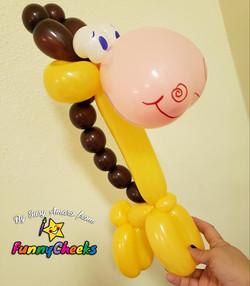 Giraffe Balloon Twisting