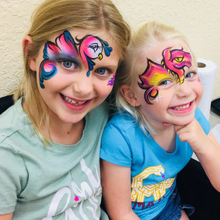 Waterproof Face Painting Services