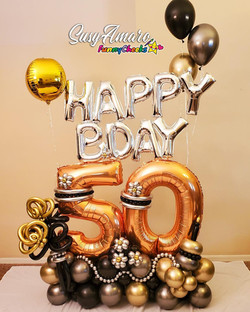 50 Birthday Marquee