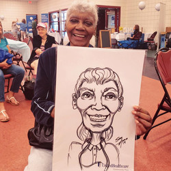 Caricatures for Corporate Functions