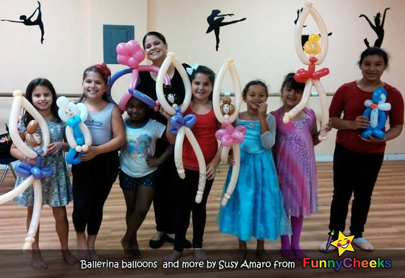 Ballerina Balloon art Kissimmee