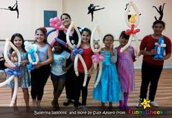 Ballerina Balloon art Kissimmee