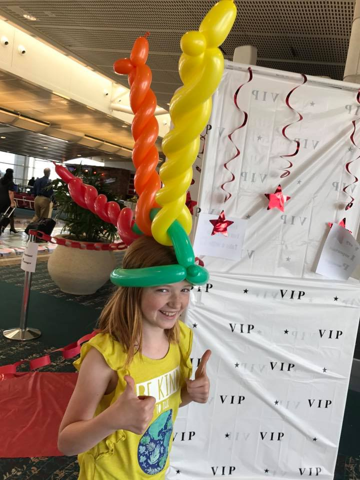 Balloon twisting for Corporate Event