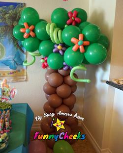 Balloon Tree Column