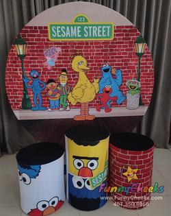 party Sesame street