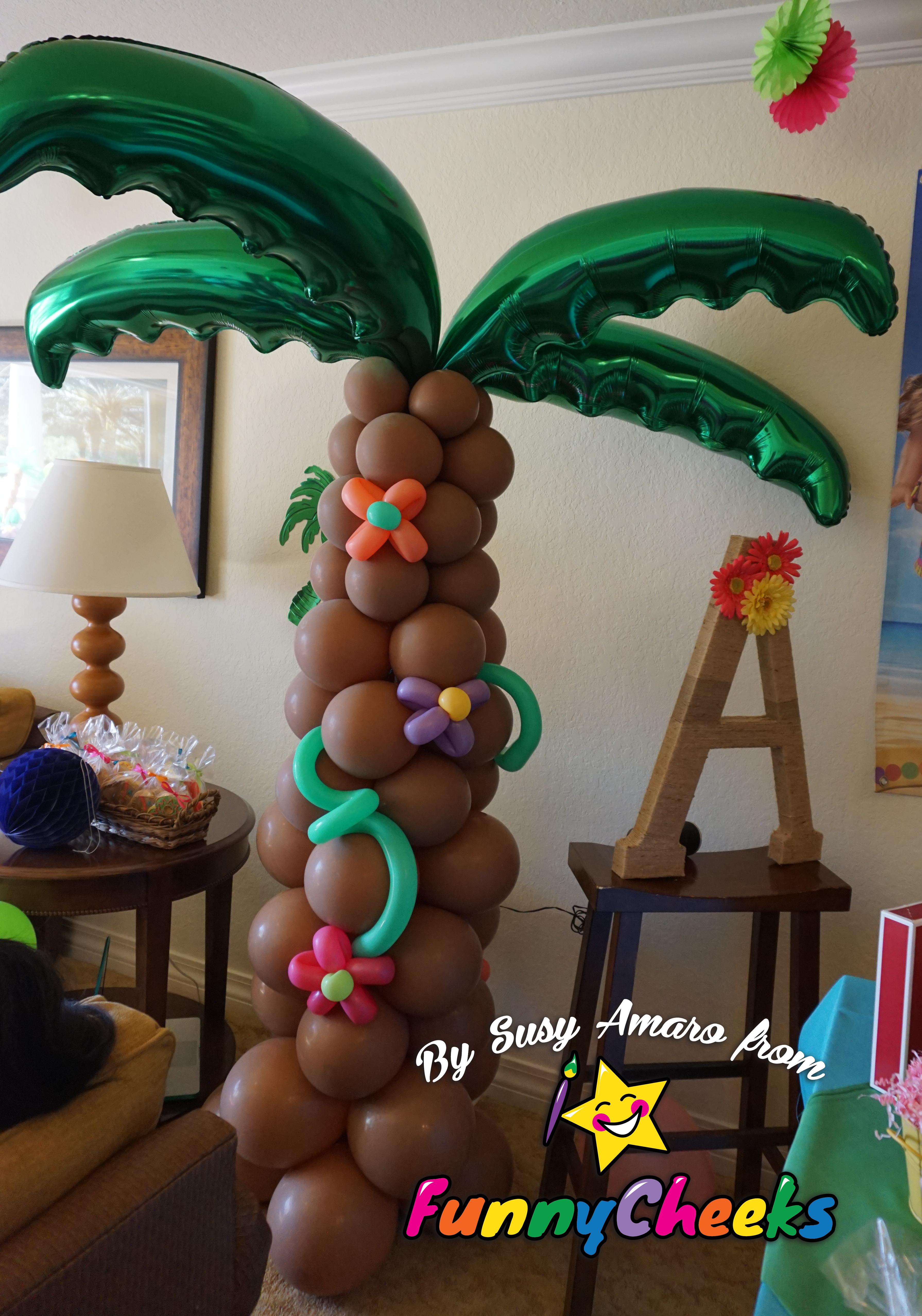Palm Balloon Column Orlando
