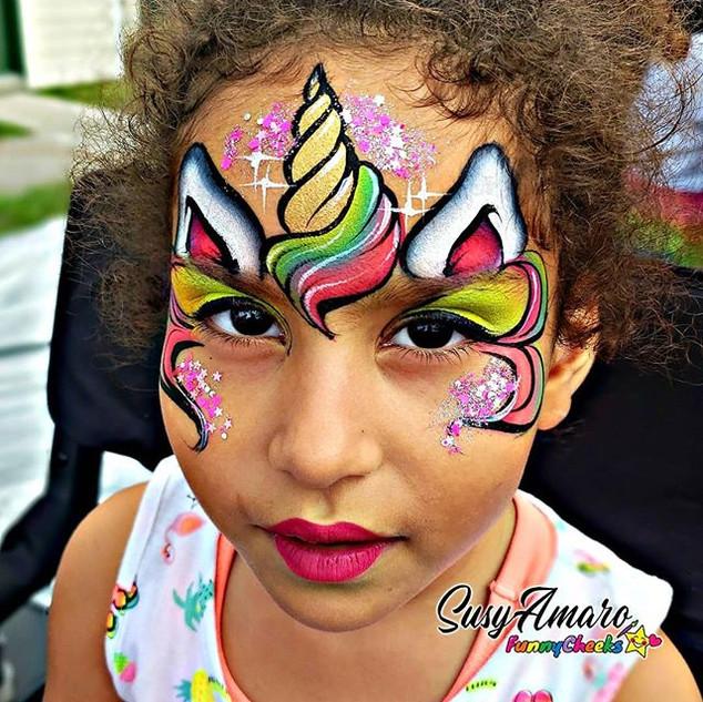 #facepainting #funnycheeks #SusyAmaro #o