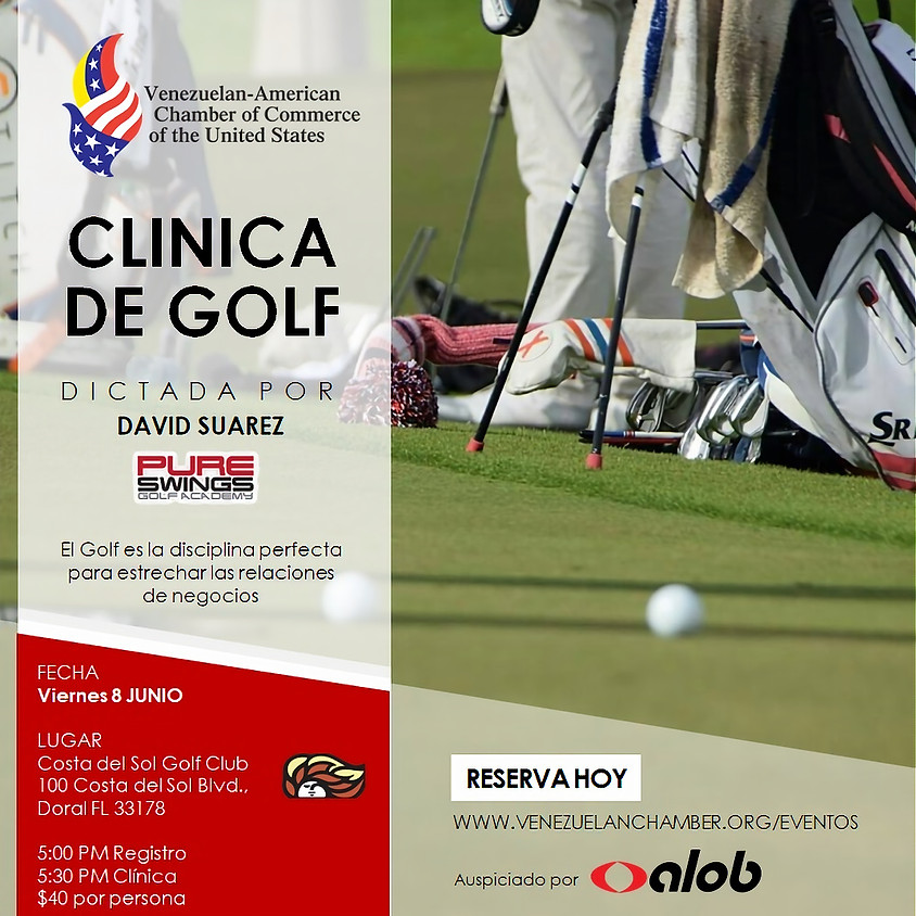Clínica de Golf de la Venezuelan-American Chamber of Commerce