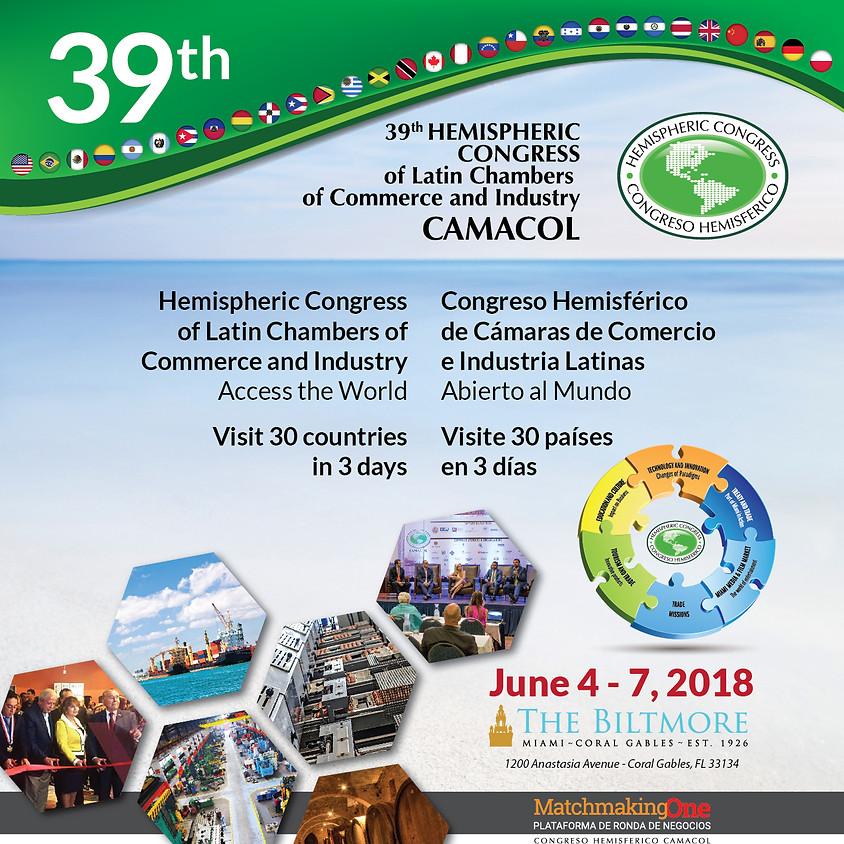39˚ Congreso Hemisférico de Camacol