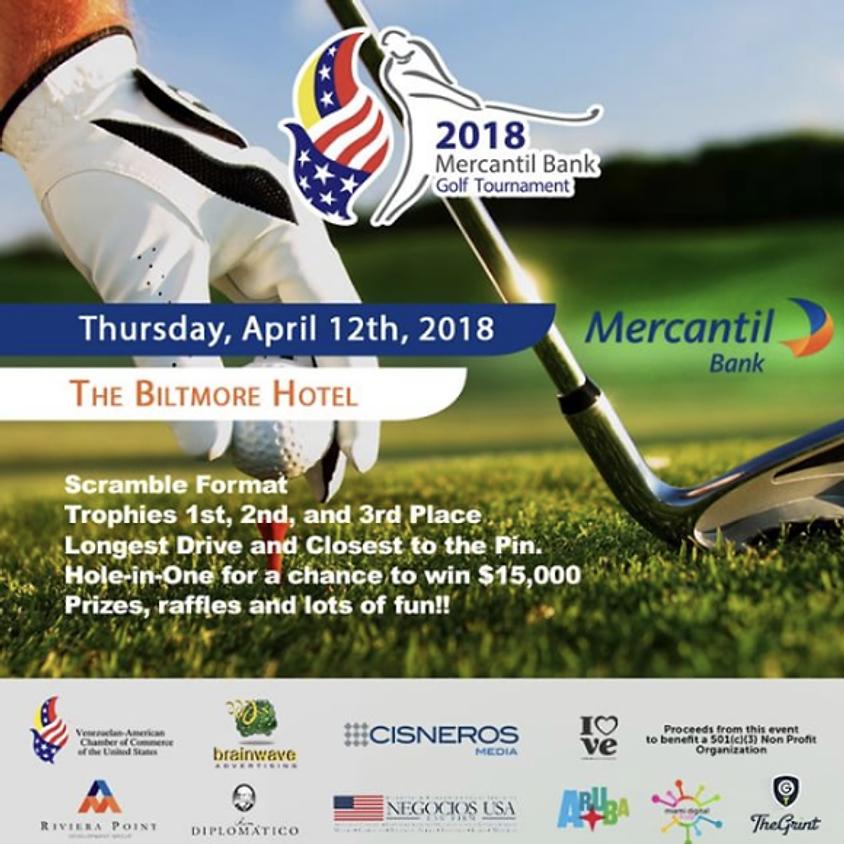 Mercantil Bank Golf Tournament de la Cámara Venezolana Americana de los EEUU