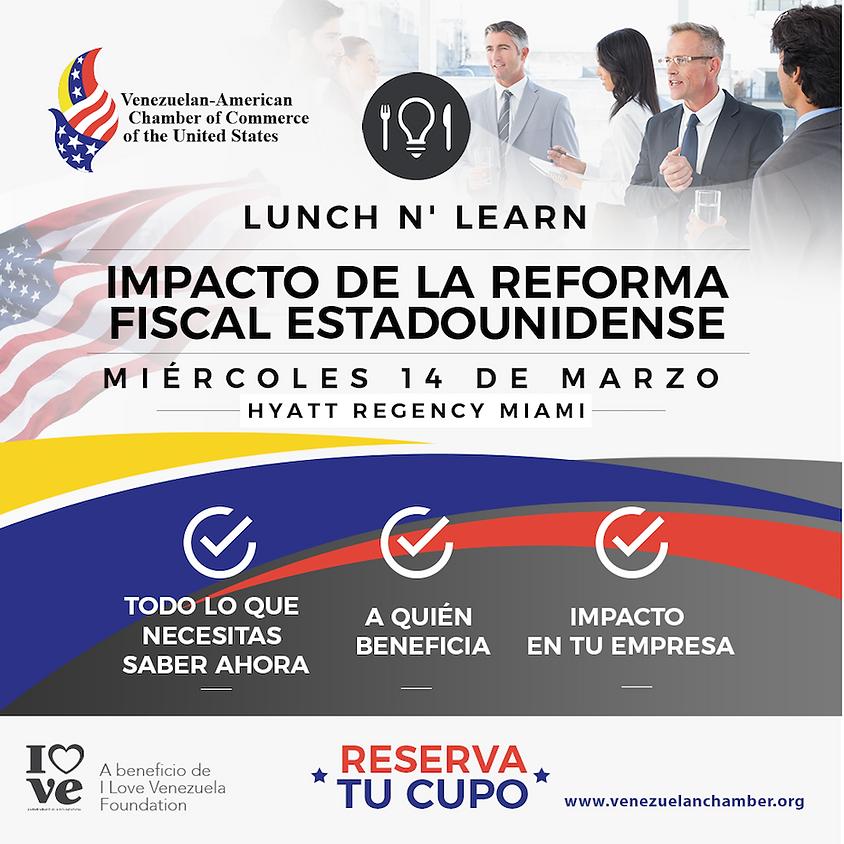 Lunch & Learn ⎟Impacto de la Reforma Fiscal Estadounidense