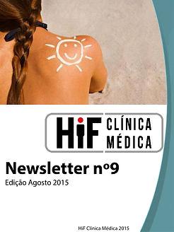 Newsletter 9 - HiF Clínica Médica - Agosto 2015