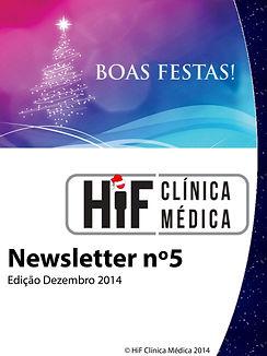 Newsletter 5 - HiF Clínica Médica - Dezembro 2014