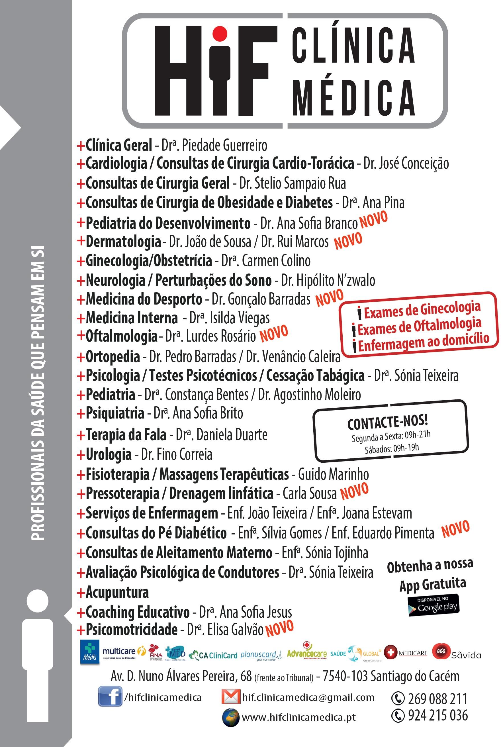 Panfleto Geral - HiF Clínica Médica