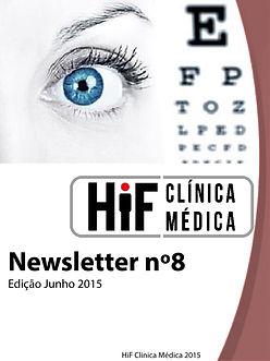 Newsletter 8 - HiF Clínica Médica - Junho  2015