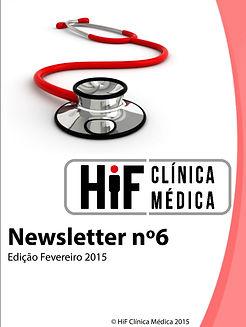 Newsletter 6 - HiF Clínica Médica - Fevereiro 2015