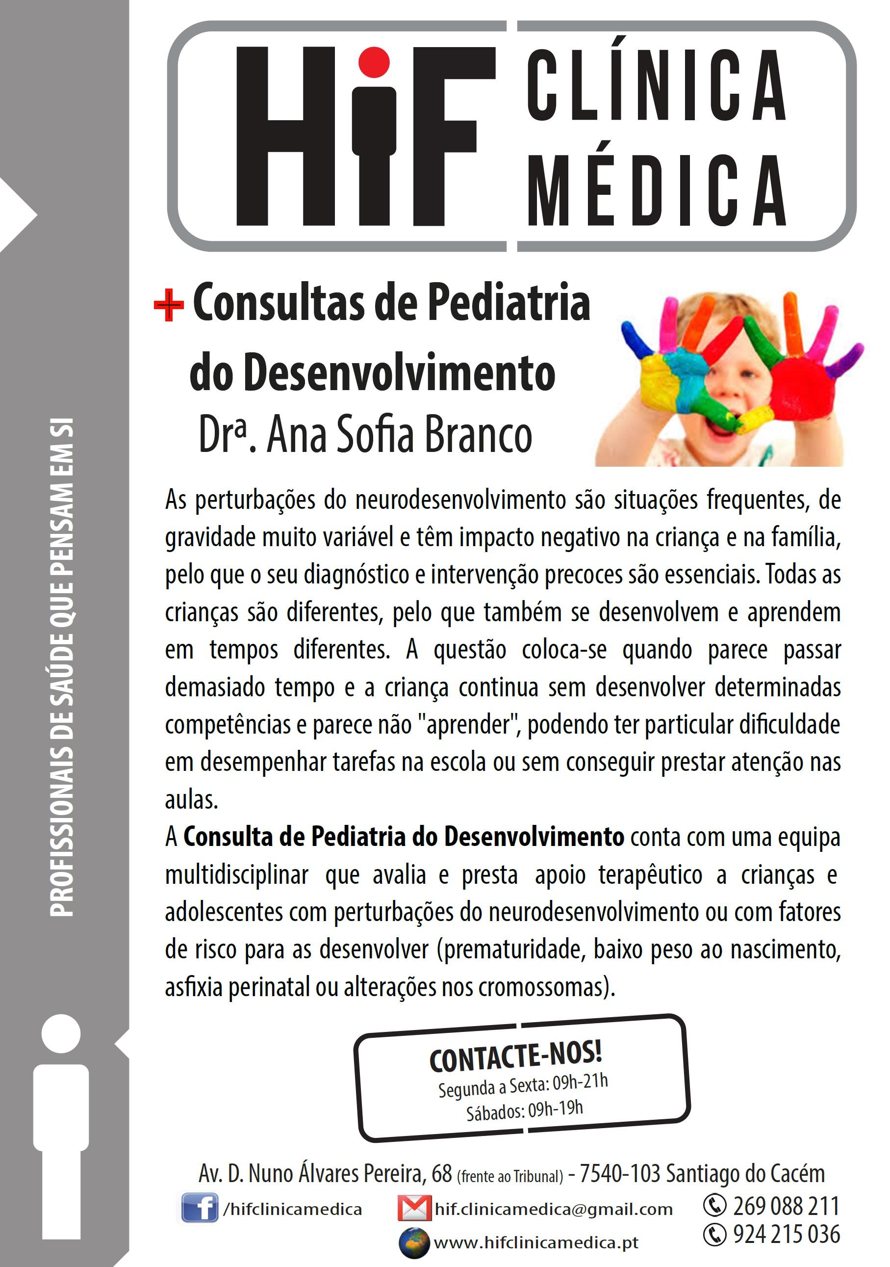 Pediatria do Desenvolvimento - HiF