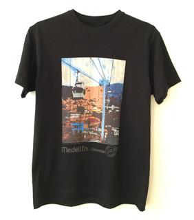 Camiseta Metrocable Día - Negra