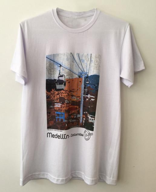 Camiseta Metrocable Día - Blanca