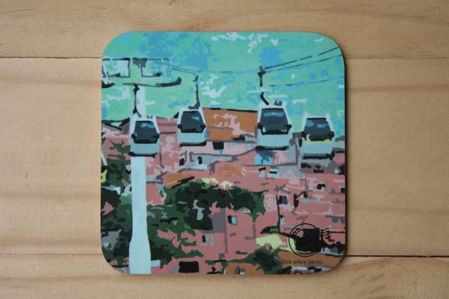 Portavasos Metrocable LK (2)