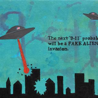 Fake Alien Invasion