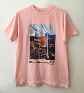 Camiseta Metrocable Día - Rosa