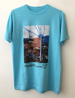 Camiseta Metrocable Día - Agua